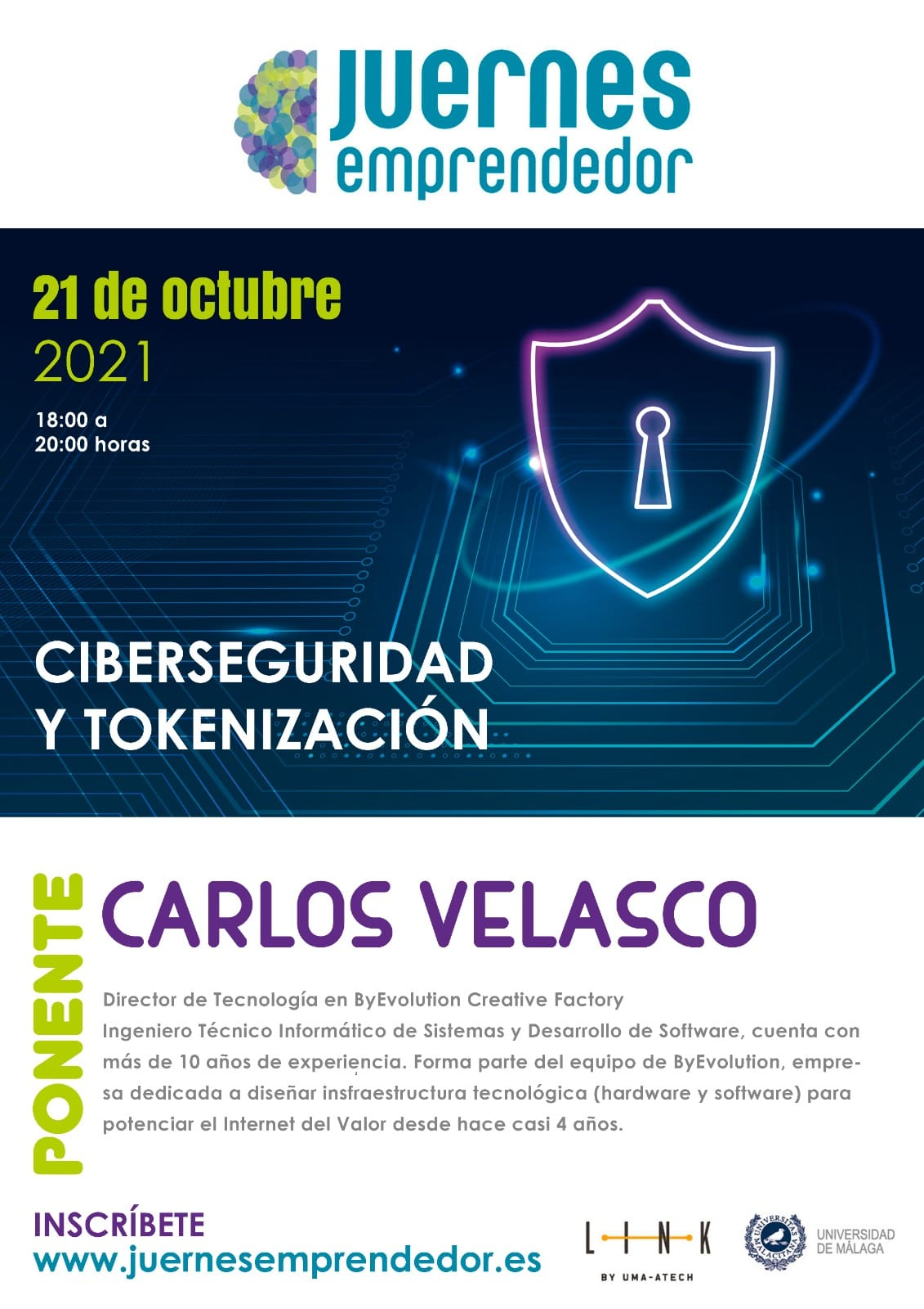 Carlos Velasco ByEvolution Seguridad blockchain token